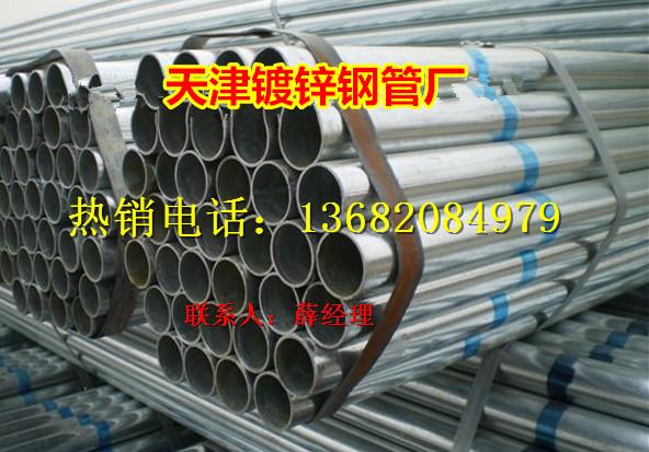 天津114镀锌圆管图片