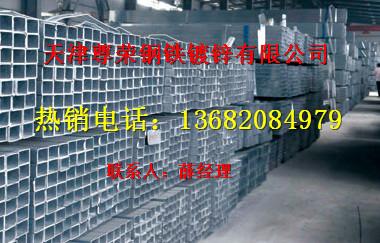 天津热镀锌方管价格