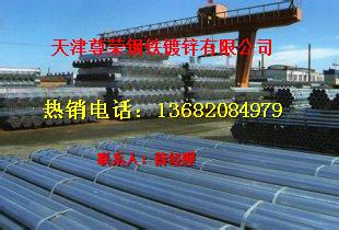天津天津镀锌钢管价格